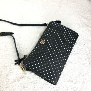 🌸OFFERS?🌸Tory Burch Leather Polka Dots Crossbody